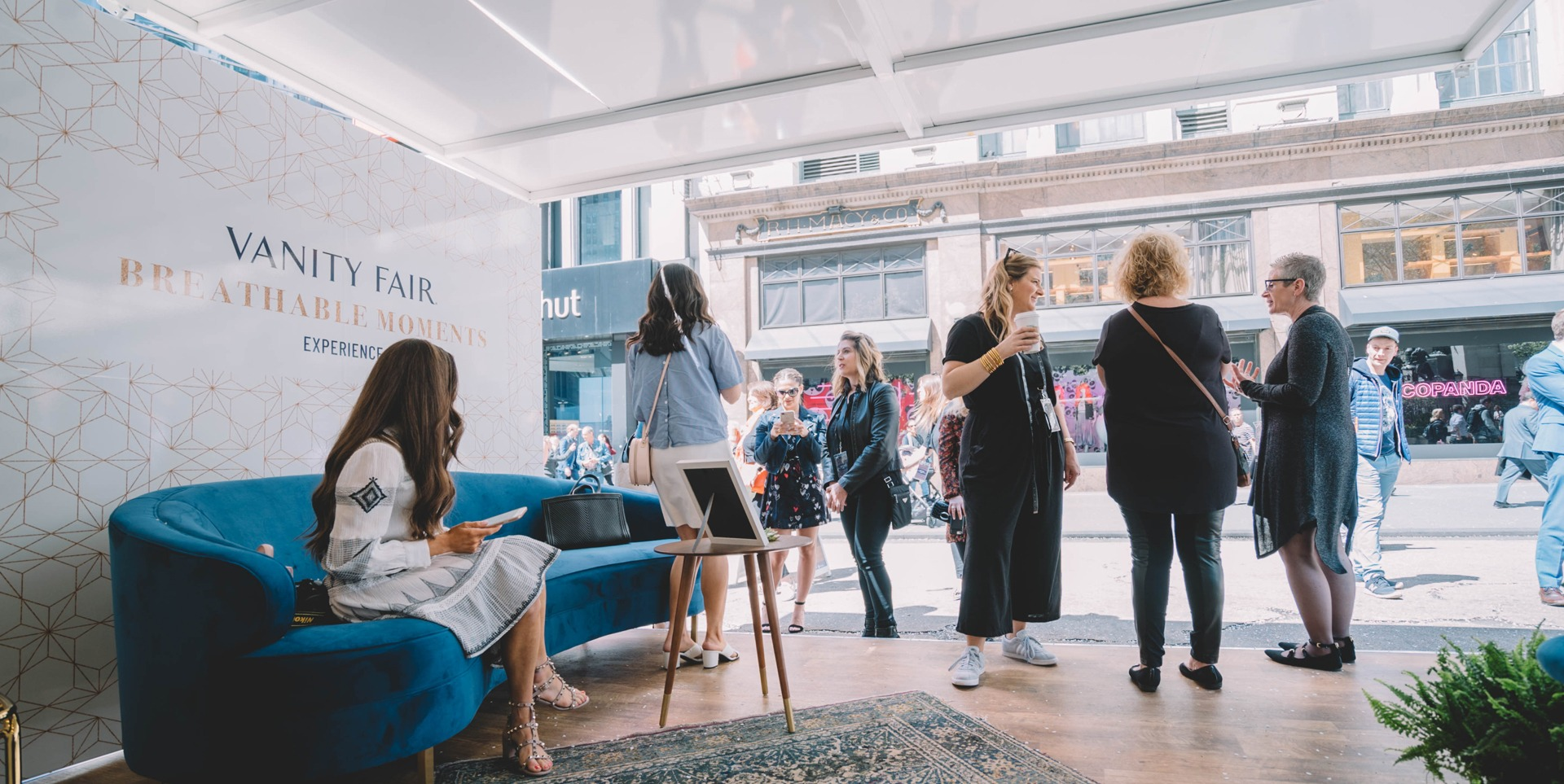 Vanity Fair Breathable Moments - Pop-Up Shop | Steel Space